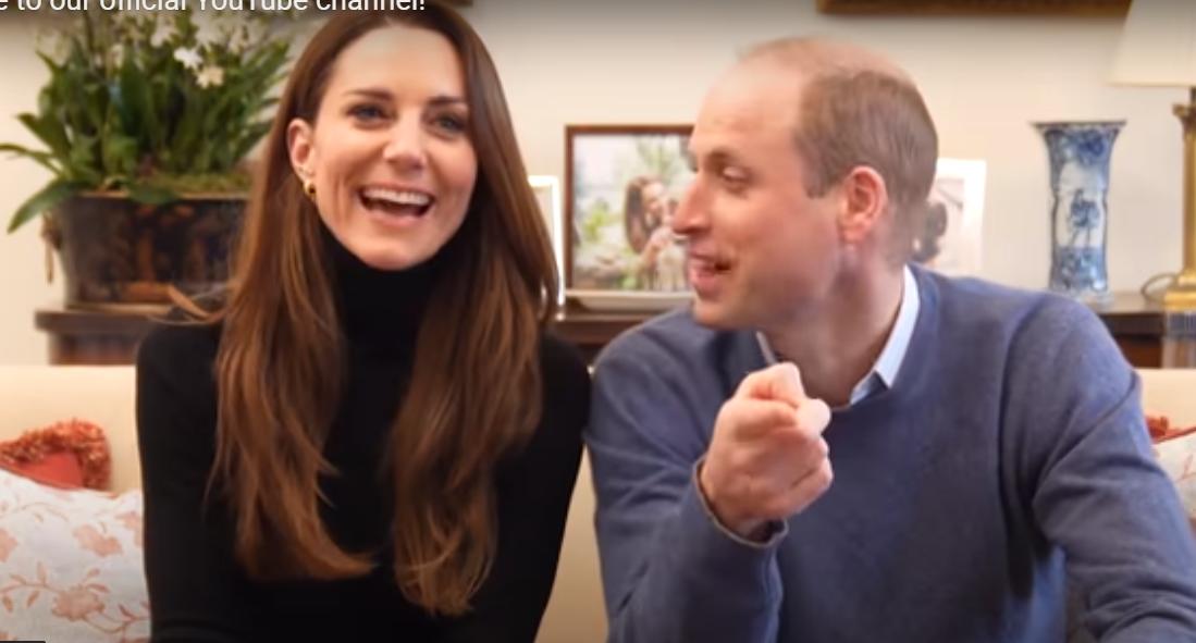 Принц Уильям и Кейт Миддлтон теперь и на YouTube: герцоги завели свой канал