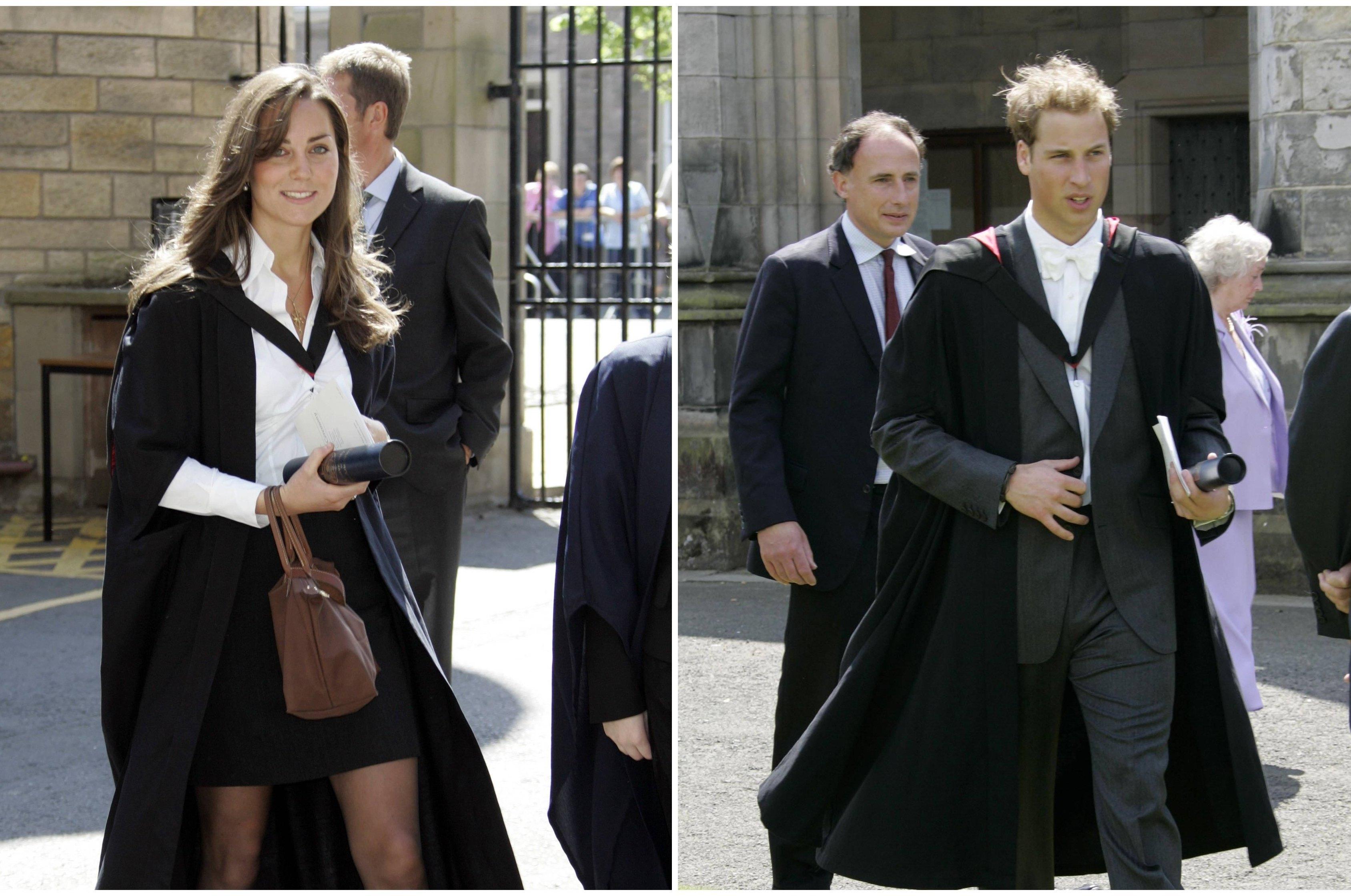 Не сводил глаз с Кэтрин, когда они вместе оказывались в комнате — однокурсница принца Уильяма