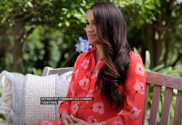 Беременная Меган Маркл записала видеообращение для антиковидного концерта: забота о судьбе женщин, украшения со смыслом и многое другое