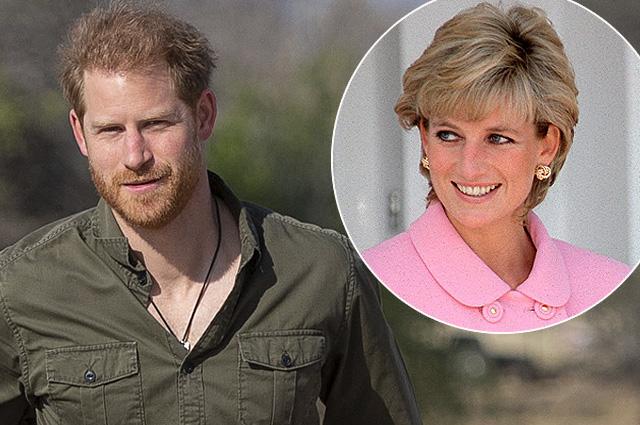Принц Гарри прилетел в Великобританию на открытие памятника своей матери