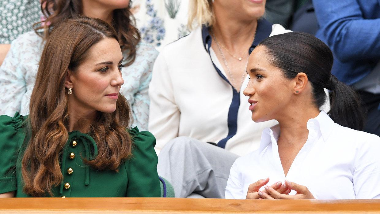 Меган  Маркл тайно связалась с Кейт Миддлтон, чтобы та помогла ей и принцу Гарри наладить отношения с БКС