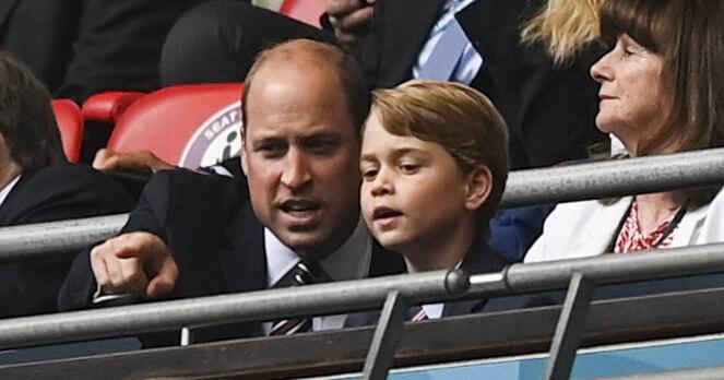 Принц Джордж подвергся травле после посещения ЕВРО-2020, принц Уильям и Кейт Миддлтон намерены защищать сына от жестокой толпы