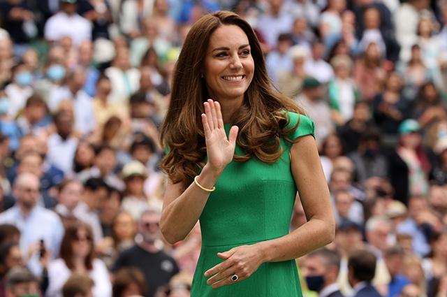Кейт Миддлтон впервые после самоизоляции появилась на публике: герцоги посетили матч Уимблдонского турнира