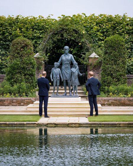 Открытие памятника принцессе Диане: как всё прошло