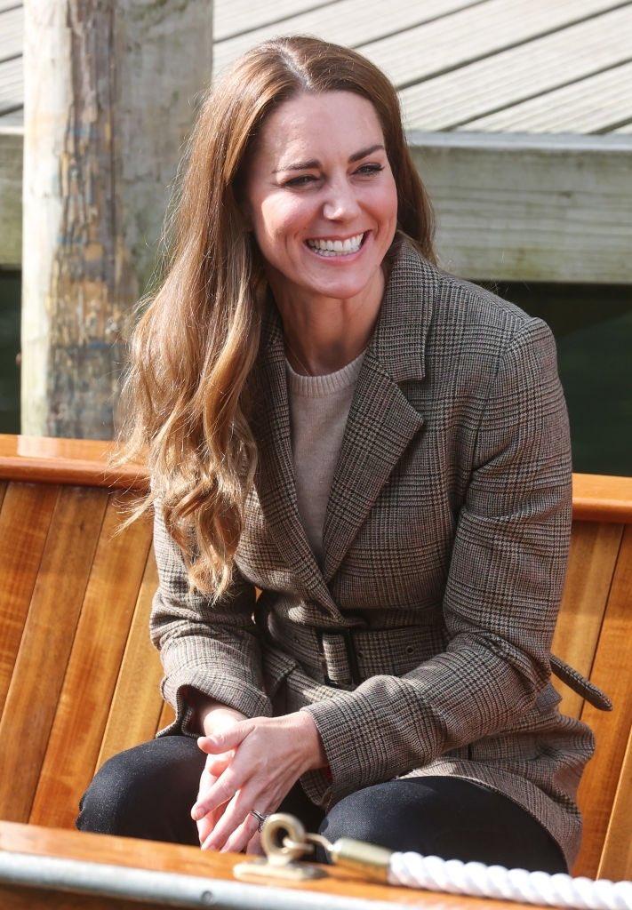 Кейт Миддлтон в Камбрии прокатилась на велосипеде и занялась скалолазанием