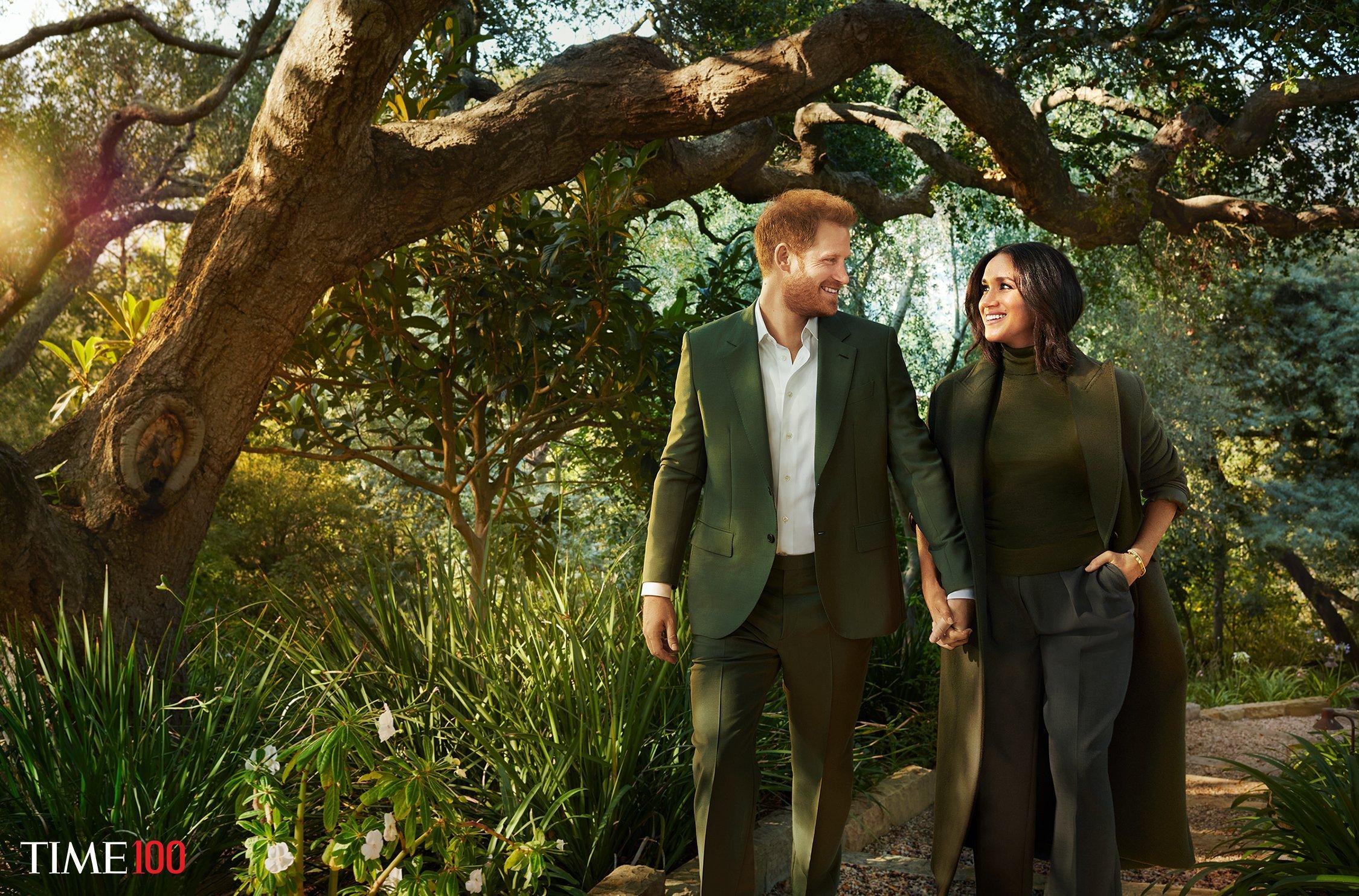 Принц Гарри и Меган Маркл попали в ТОП-100 самых влиятельных людей мира от журнала Time