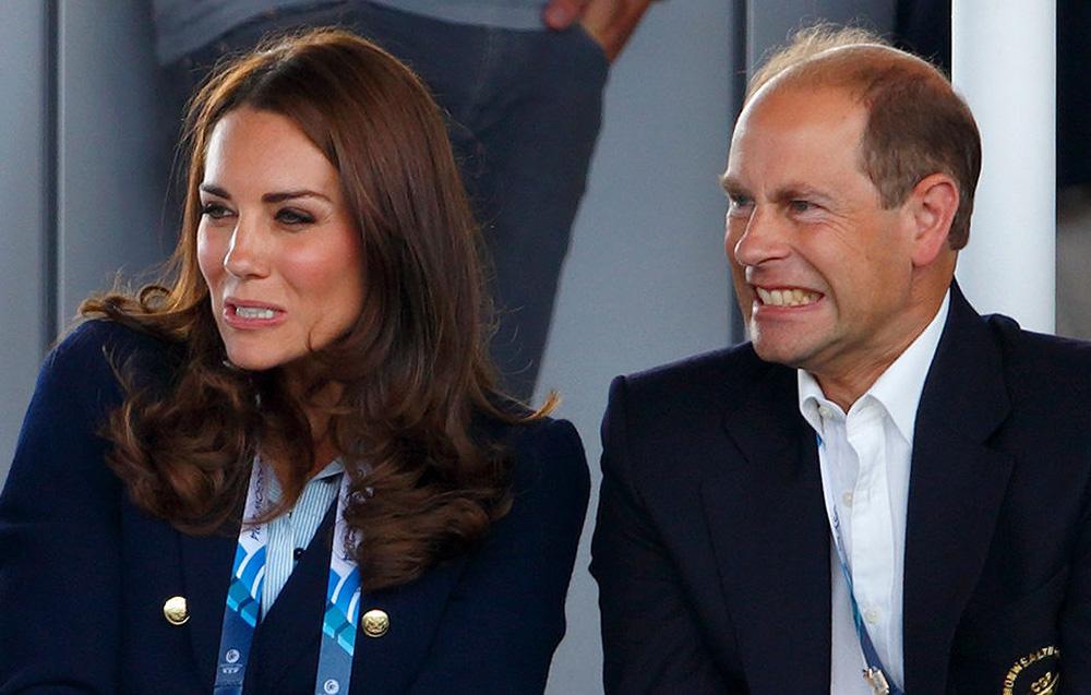 Принц Эдвард считал, что Кейт Миддлтон ждет тяжелая жизнь в королевской семье